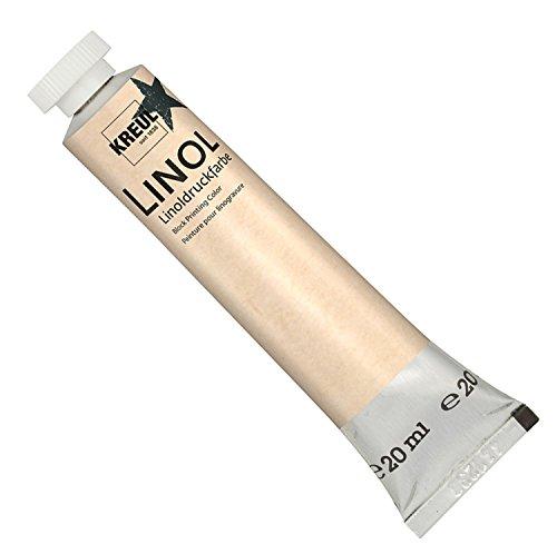 KREUL 15715 - Linoldruckfarbe Tube, 20 ml, schwarz