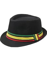 fourever Funky Hommes de inspi Reggae Rasta Jamaïque Fedora Hat 2909df7eb01