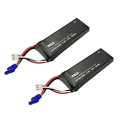 Fytoo 2 X 7.4V 2700mAh 10C Lipo Batteries Replacement for Hubsan X4 H501S H501A H501C H501M H501S W H501S pro FPV Quadcopter to Increase the Flight time(40mins) from china