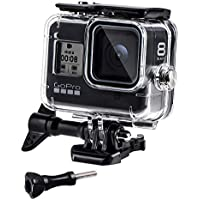 REDTRON Custodia Protettiva Impermeabile per GoPro Hero 8, 60m Custodia Subacque Accessori Include Supporti, Viti per GoPro Hero 8 Black Fotocamera Digitale 2019