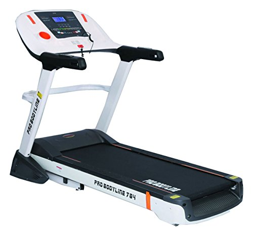 Heavy Duty Pro Bodyline Motorised Treadmill With Hydraulic Suspension & Autolubrication