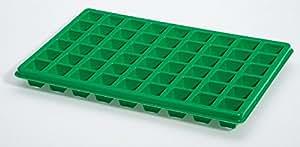 Bac à alvéoles pour semis 50 x 32 x 6 cm, 4 pots quadr 54 cm.