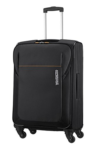 american-tourister-san-francisco-spinner-m-trolley-poliestere-black-61-litri-66-cm