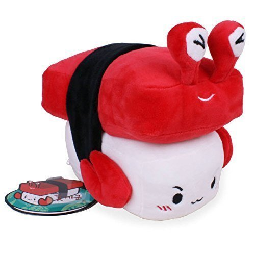 "Nwt Crab 6"" Sushi Plush Pillow Cushion Doll Japan Toy Gift Bedding Room Home Decor Korean Fancy by Cupid Gift Shop by ex"