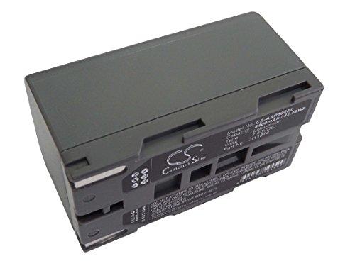 Batterie Li-Ion vhbw 4400mAh (7.4V) pour AshTech ProFlex 500, 800, ProMark 500, 800 comme 111374.