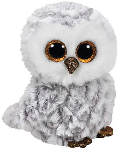 Ty Beanie Boos 42Cm Owlette (Gufo) Peluches Uccelli E Volatili, Multicolore, 0008421368402