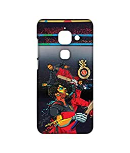 Licensed Royal Challengers Bangalore RCB Premium Printed Back cover Case for LeEco Le 2 Max