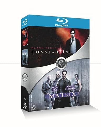 Constantine + Matrix - Coffret Keanu Reeves 2 Blu-Ray [Blu-ray]