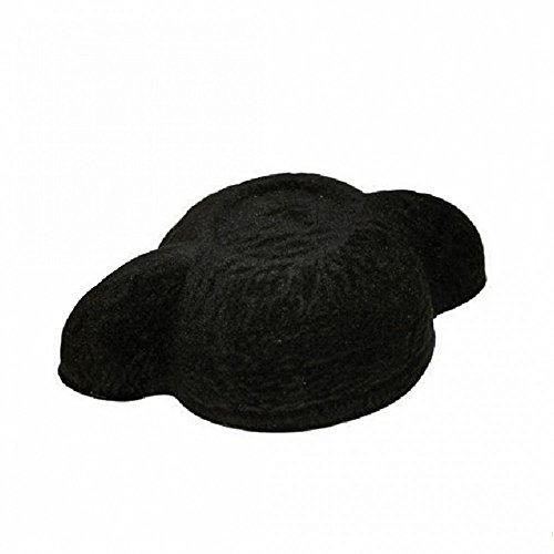 Torero schwarz KW 59 Hut Stierkämpfer Kostüm Zubehör Spanier Fasching Montera