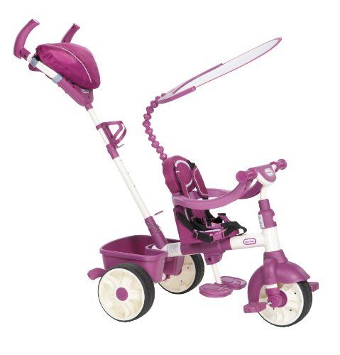 4-in-1 Trike - Sport Edition - Pink - Outdoor - Markt und...