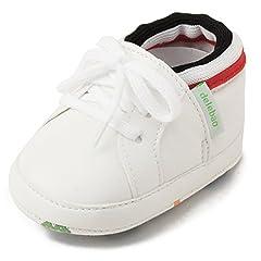 DELEBAO Scarpe Bimbo bebé Primi Passi Unisex Prima Infanzia Scarpine in PU  Pelle Prima Infanzia Calzature Neonato (scarpe1 f0207be99bc