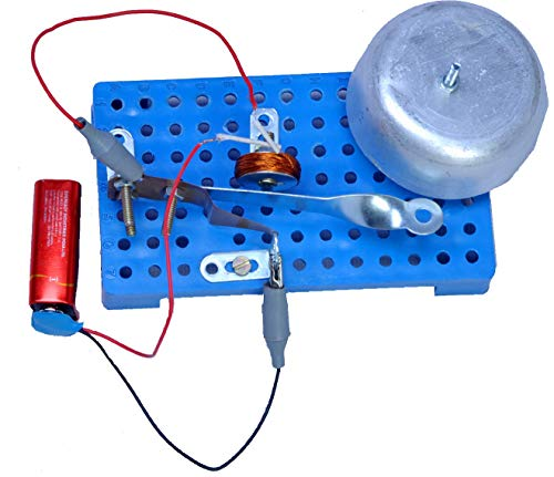 DIY Electric Bell - STEM Activity Set - STEM Kits for Kids - Science Adventure Box - Tinkering LAB Model - School LAB Model – Teacher'S Learning Material - TLM Model