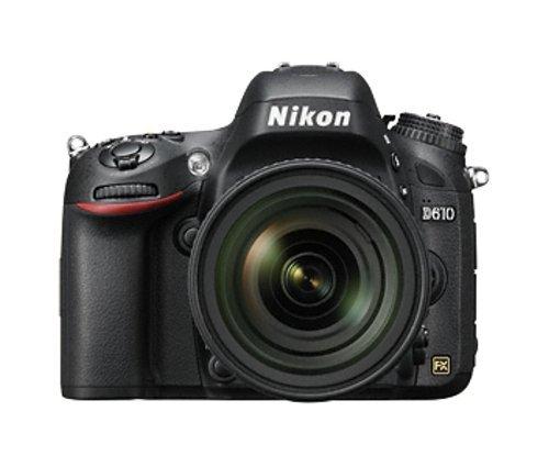 Nikon D610 24.2 MP Digital SLR Camera (Black) with Body Only + Free Lowepro Photo Hatchback 22L AW