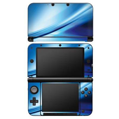 DeinDesign Nintendo 3 DS XL Case Skin Sticker aus Vinyl-Folie Aufkleber Verlauf Luft Blau