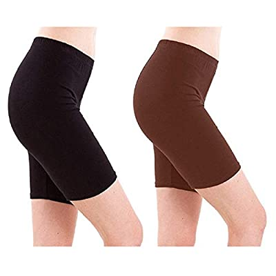 Eazy Trendz Fashion Womens Lycra 4 Way Stretchable Cycling,Yoga,Jogging Shorts Tights Shorties,190 GSM (Pack of 5) (Size: Free Size) (Random Colours)