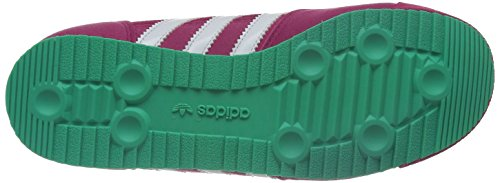 adidas Dragon J, Sneaker Basse Unisex - bambini Rosa (Pink (Pink Buzz S10 / Running White Ftw / Solo Mint F14-St))