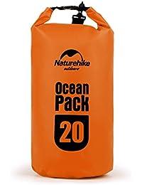 OUTAD Sac Étanche de Rangement Sac de Compression Sacs Imperméables Poche Hypergear Dry Bag, compact et léger pour Activités de Plein Air et Sports Aquatiques Camping Nautique Pêche Rafting 3 capacité à choisir(5L 10L 20L)
