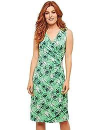 2cde9876ead Joe Browns Womens Floral Print Bodycon Jersey Wrap Dress