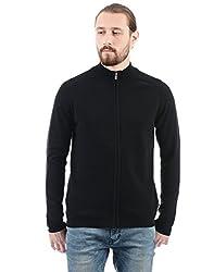 Pepe Jeans Mens Cotton Sweater (8907557392485_PIMT200606_Black_L)