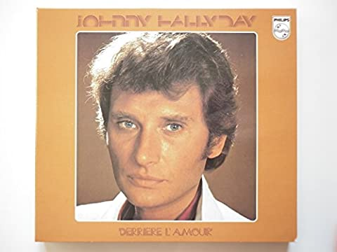 Johnny Hallyday cd album digipack Derriere L'amour