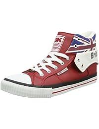 British Knights ROCO UNION JACK Unisex-Erwachsene Hohe Sneakers