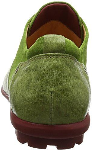 Think Kong_282651, Scarpe Stringate Brouge Uomo Verde (Apfel/kombi 59)