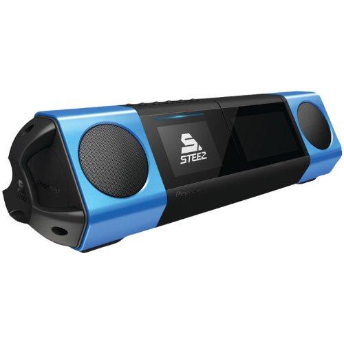 Pioneer STZ-D10S-L Steez Portable Music System für Apple iPod/iPhone Dock (Battle/DJ-Modus) (Portable Dock Ipod)
