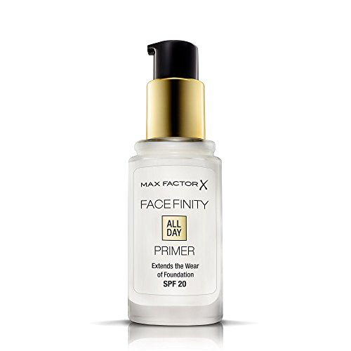 Max Factor - Facefinity All Day Primer - Base per Fondotinta Liquido Effetto Matte a Lunga Durata - 05 Translucent - 30 ml