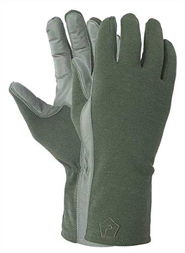 Pentagon Herren Long Cuff Pilot Handschuhe Oliv Größe M