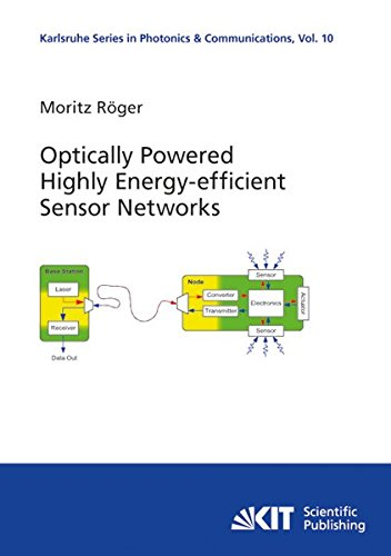 eBook Download Reddit: Optically Powered Highly Energy-efficient Sensor Networks: Volume 10 (Karlsruhe Series in Photonics and Communications/Karlsruhe Institute of of Photonics and Quantum Electronics (IPQ))
