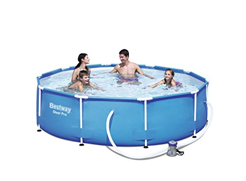 Bestway 56408 Steel Pro - Piscina desmontable tubular, 305 x 76 cm,...