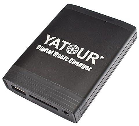 USB SD AUX MP3 Adapter für VW: Delta/Premium, R110, RCD200 - - - - Audi: Chorus 2+/3, Concert 2+/3, Symphony 2+/3, Navigation Plus 3, RNS-E, BNS 5.0 - - - - Skoda: