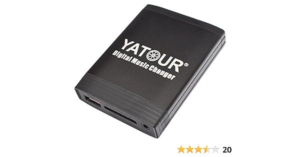 Yatour Yt M06 Bek Digitaler Musikadapter Usb Sd Aux Elektronik