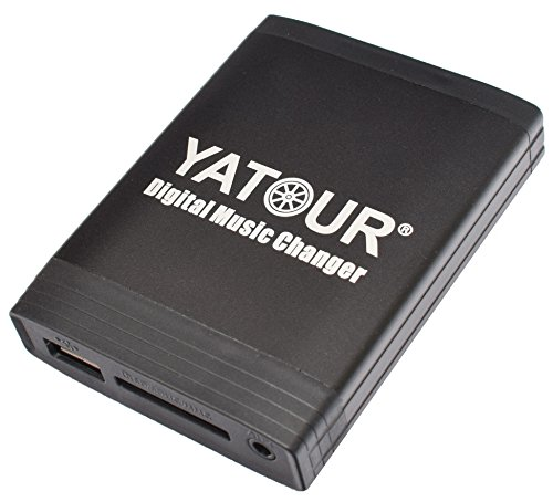 Yatour YT-M06-FRD1 Digitaler Musikadapter für USB SD AUX für Ford (1994-2004 Visteon) Autoradio, CD-Wechsler, MP3-Player (Ford Cd-player)