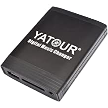 Yatour - Cargador digital de MP3 con cable USB (Alfa Romeo: 147, 156, 159, 166, Brera, Mito, GT, Spider Fiat: Doblo, 500, Bravo a partir de 07, Croma a partir de 05, Doblo a partir de 01, Ducato a partir de 02, Idea a partir de 04, Multipla a partir de 99, Palio, Panda a partir de 04, Punto a partir de 99, Stilo a partir de 02, Lancia: Musa, Ypsilon, Lybra, con radios Blaupunkt, Visteon y Connect Nav(+))