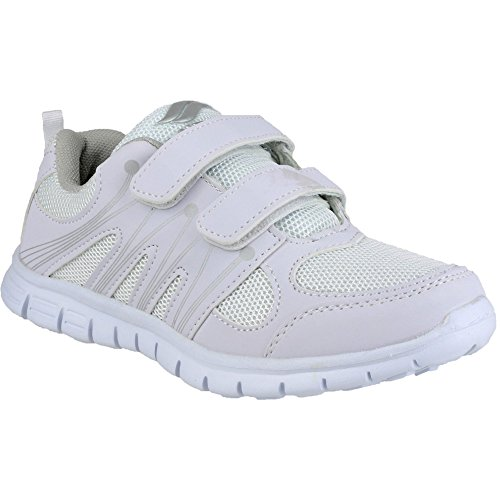 Mirak Milos Velcro Ladies Sports Shoe White Size 39