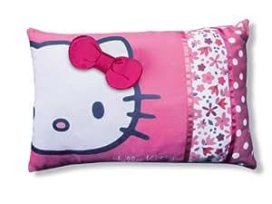 cti 038779 kissen hello kitty flora 28 x 42 cm k che haushalt. Black Bedroom Furniture Sets. Home Design Ideas