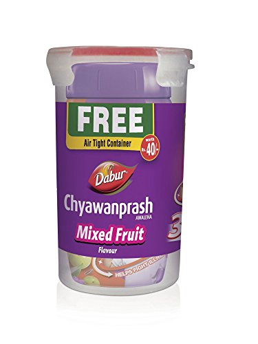 Dabur Chyawanprash Awaleha Mixed Fruit Flavour - 500 g With...