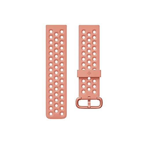 Imagen de fitbit versa 2 watch strap, unisex adult, coral, large alternativa