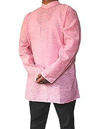 Indian shirt Vêtements De Mode Hommes Court Kurta Robe En Coton Indien