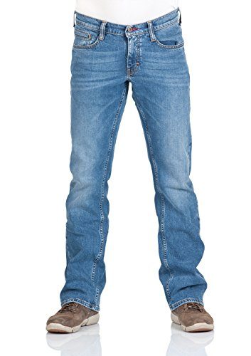 Mustang Herren Jeanshose Oregon Boot Light Blue (058)