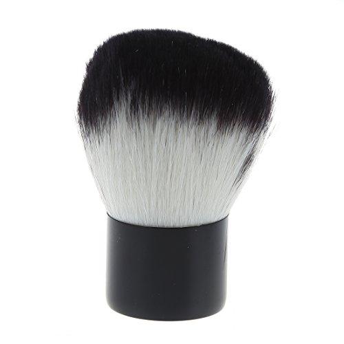 TOOGOO(R) Fard a joues Pinceau professionnelle Fondation Poudre pour le visage cosmetique pinceau de maquillage pour un usage professionnel et de maison (noir)
