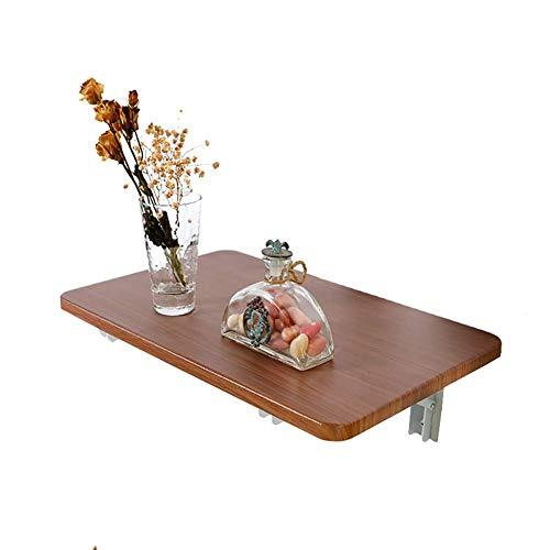 mansd Klapptisch zur Wandmontage Wandmontierte Stehtische Werkbank, Hochleistungsklapptisch aus Holz für das Küchenheim, inklusive Sekundenkleber (Größe: 70 × 38 cm)