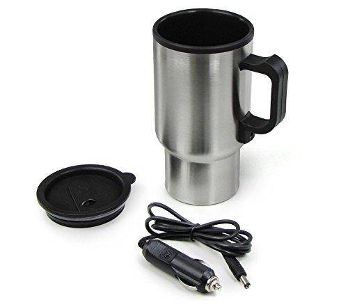 Carparts-Online 30469 Edelstahl Getränkewärmer universal 12 Volt für Kaffee Tee Suppen
