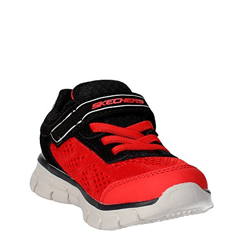 Sinergia Power Jovens Preto Rush Skechers Vermelho Tênis 07Tqqxz