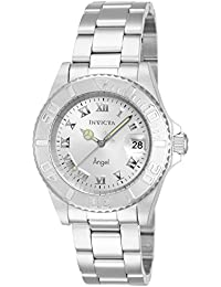 Invicta Angel Women's Analogue Classic Quartz Watch with Stainless Steel Bracelet – 14320