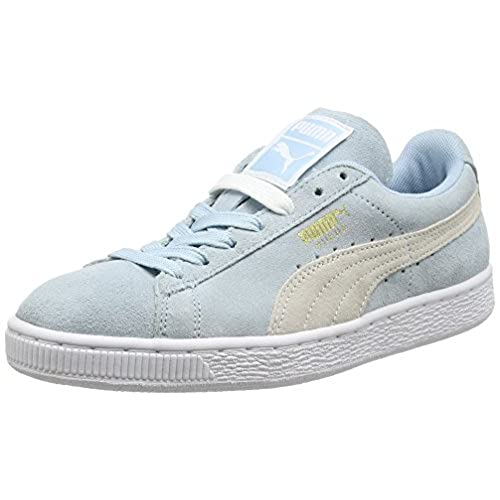 Puma Classic Col, Baskets Mode Homme - Bleu (Peacoat/White), 43 EU (9 UK)