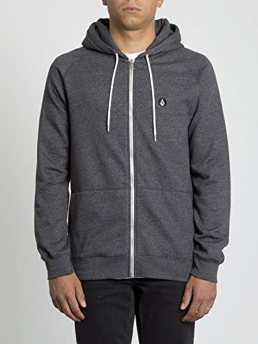 Volcom Hoodie Timesoft Zip - Herren Hoodie - Black Volcom Zip-hoodies