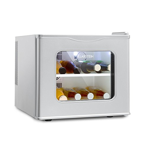 KLARSTEIN Winehouse - Minibar, Mini frigo 17 Litri, Frigorifero per Bevande, 60...