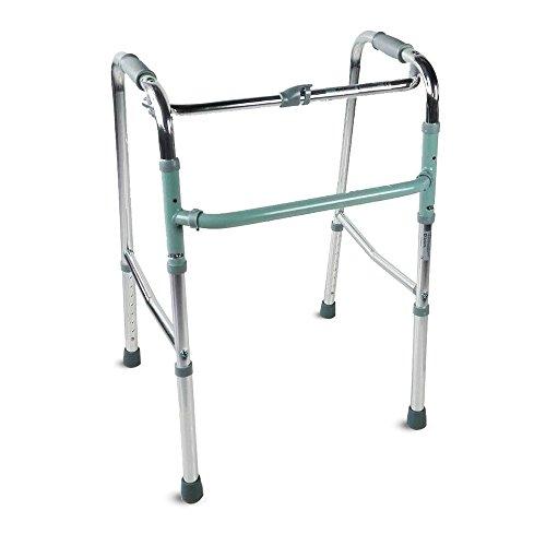 Andador para adultos, Aluminio, Plegable, Sin ruedas, Columna, Mobiclinic